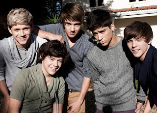 Harry, Zayn, Louis, Liam, Niall