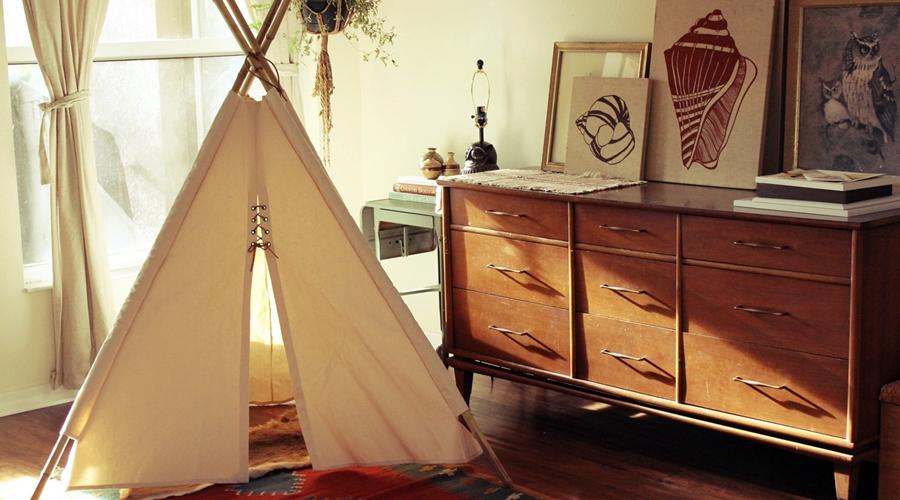 wystrój wnętrz, wnętrza, urządzanie mieszkania, dom, home decor, dekoracje, aranżacje, tipi, namiot, tepee, teepee, dekoracja, decoration, pokój dziecięcy, kids room