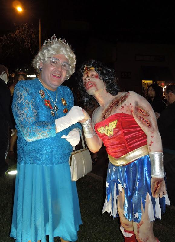 WEHO Halloween Carnaval Queen Zombie Wonder Woman