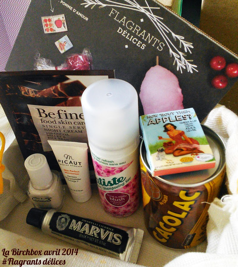 Birchbox avril : avis et photos