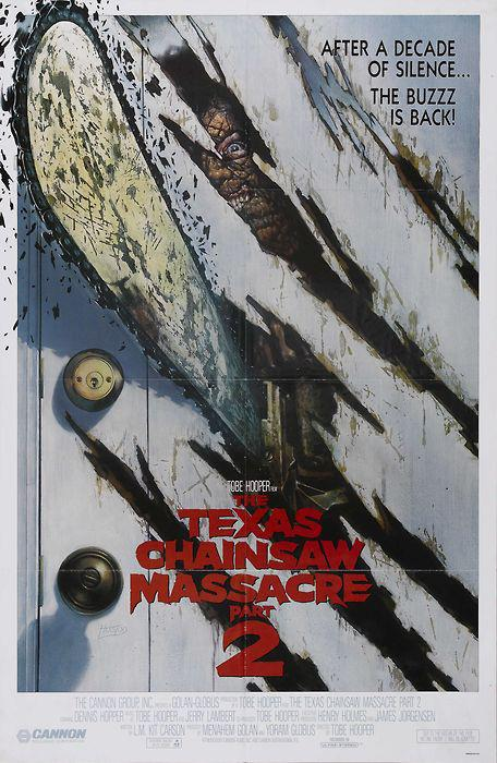The Texas Chainsaw Massacre Part 2 (1986) poster