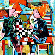FIDE Master Haridas Pascua and Woman National Master Jedara Docena topped . chess art
