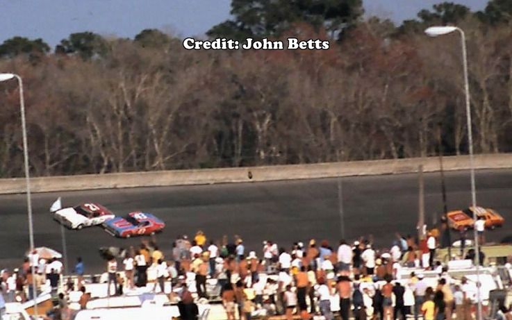Daytona Dog Track >> Bench Racing From the Volunteer State: February 15, 1976: Daytona 500 - Petty v. Pearson