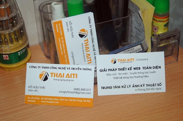 Thiết kế sáng tạo thương hiệu Công ty Thái AiTi