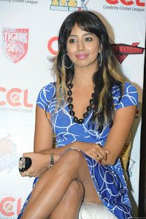 WWW.BOLLYM.BLOGSPOT.COM Kannada Actress Sanjana at CCL press meet Images Picture Stills Gallery 0003.jpg
