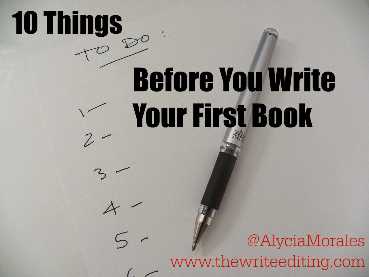 the write editing 10 things you need to do before you