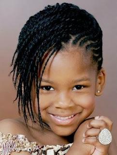 Model rambut keriting anak perempuan cantik dan keren