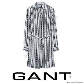 Princess Sofia Style GANT Print Dress
