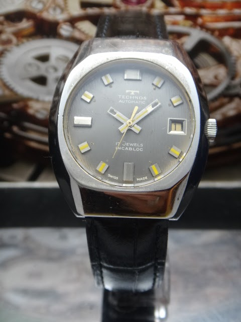 Watchlim online store 1 technos vintage swiss automatic watch sold for Technos watches