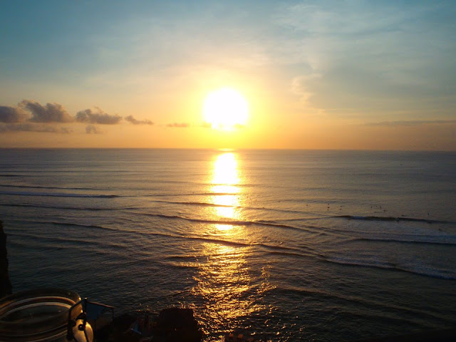 Sunset over Uluwatu