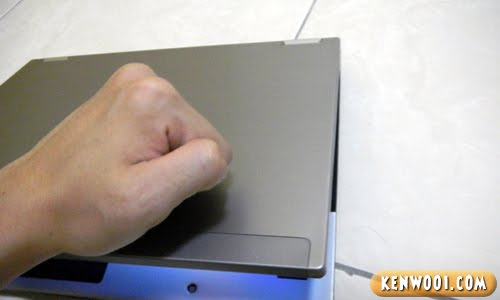 computer knock