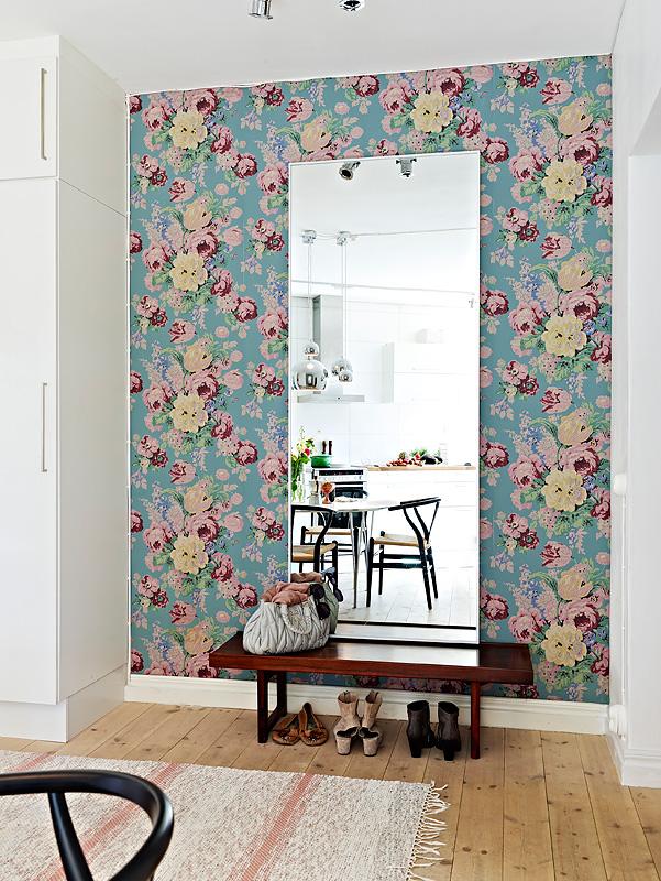 """decoracao de sala unica:Já no piso, o tapete é uma """"boa"""", pois cobrem grande parte, e vale a"""