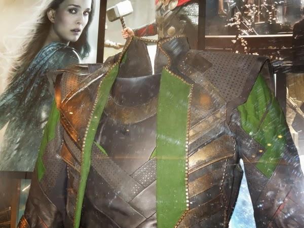 Thor Dark World Loki costume detail