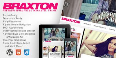 Download Braxton v2.7 Premium WordPress Magazine Theme