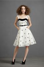 Black and White Anthropologie Dress