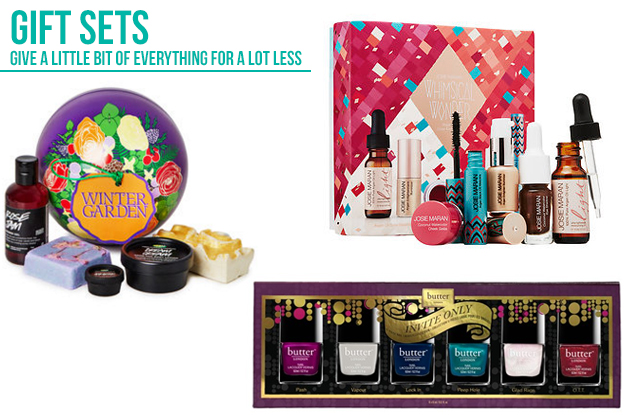 Christmas holiday gift guide: gift sets