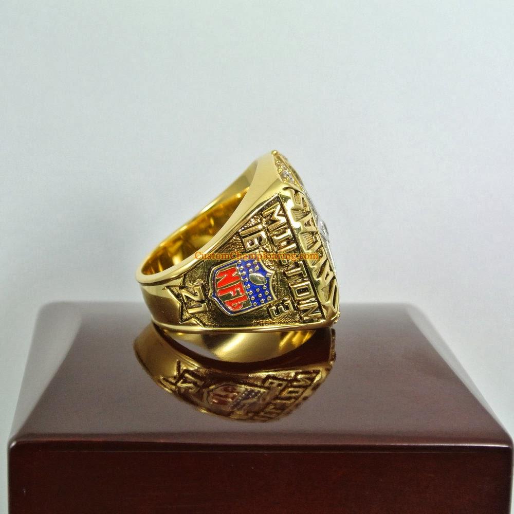 custom chionship rings nfl 1992 bowl xxvii
