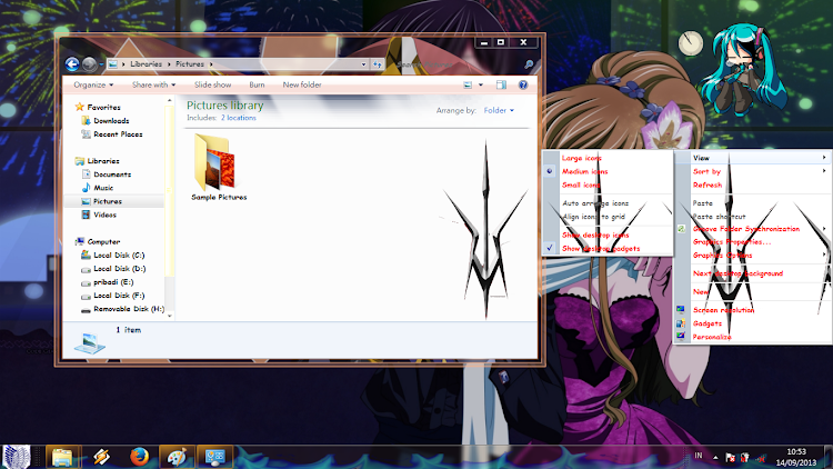 [ Theme Win 7 ] Code Geass 4
