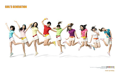 Girls Generation - South Korean Pop Girl Wallpapers