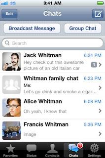 WhatAppMessenger