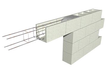 Construir tu vivienda refuerzo de muros dinteles for Construir muro de bloques