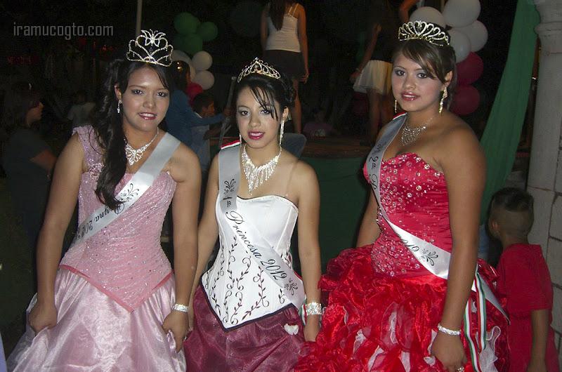 La reina y las princesas de La Hacienda, fiestas patrias 2012