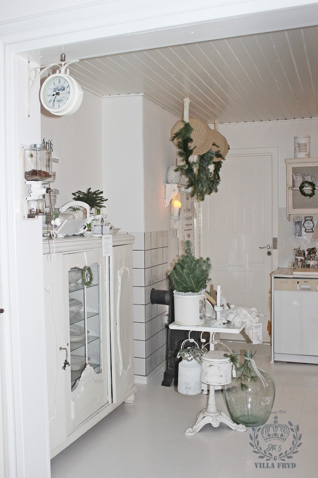Hos Villa Fryd: Køkken hygge