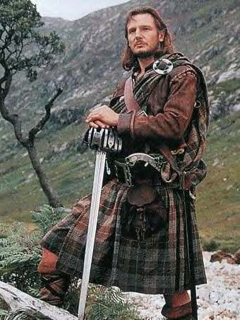 movie stars in kilts