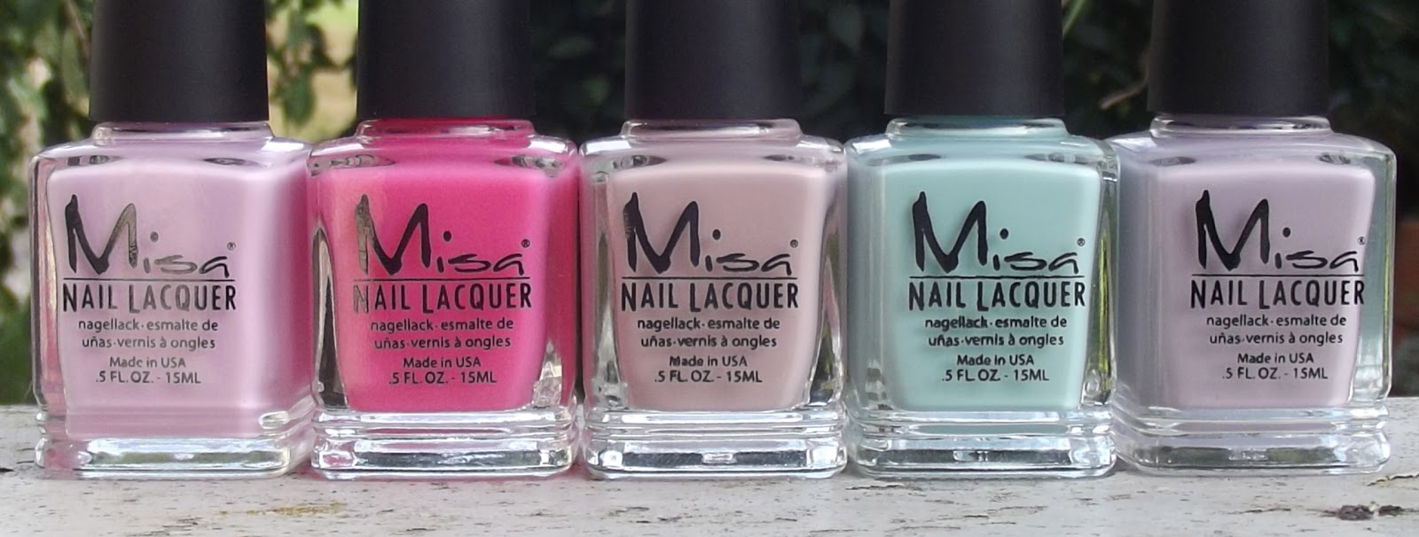 Nail Juice: Misa Precious Moments Spring Collection 2012