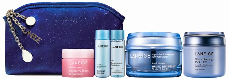 Laneige Sparkling Sleeping Beauty Duo, Gift Set, Laneige 2014 Holiday Collection, Laneige, Holiday Set, Christmas Set, Skincare, Makeup, Beauty