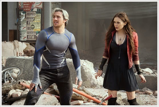 Quicksilver and Scarlet Witch -  Avengers : Age Of Ultron