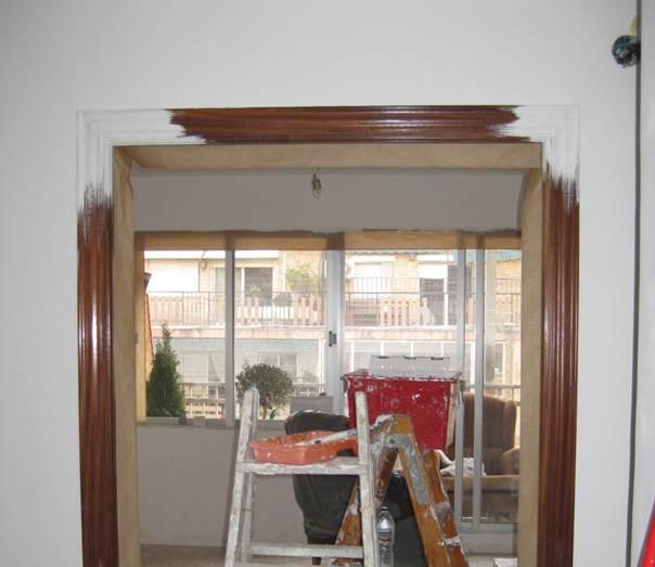 Kp decor studio c mo lacar las puertas de tu casa how - Marcos de puertas ...