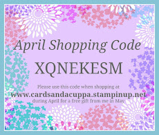 Hostess Code for your April Stampin' Up! Shopping
