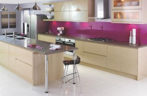 Interior Design Colourful Kitchens