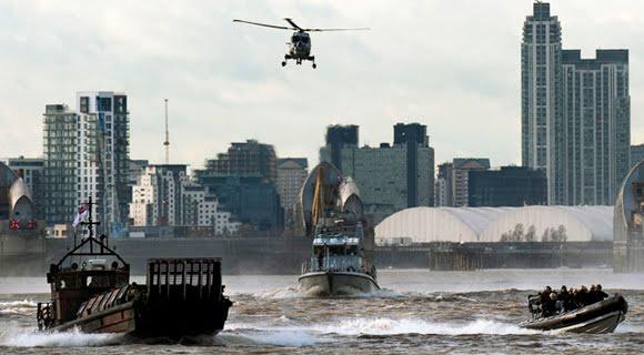 Londres se está convirtiendo en un Estado Policial altamente militarizado en la preparación para los Juegos Olímpicos