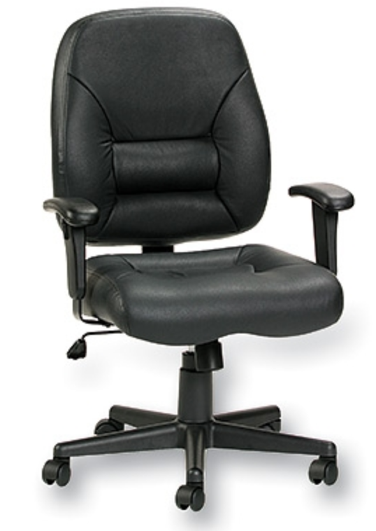 Eurotech Seating Tuscany Leather Computer Chair