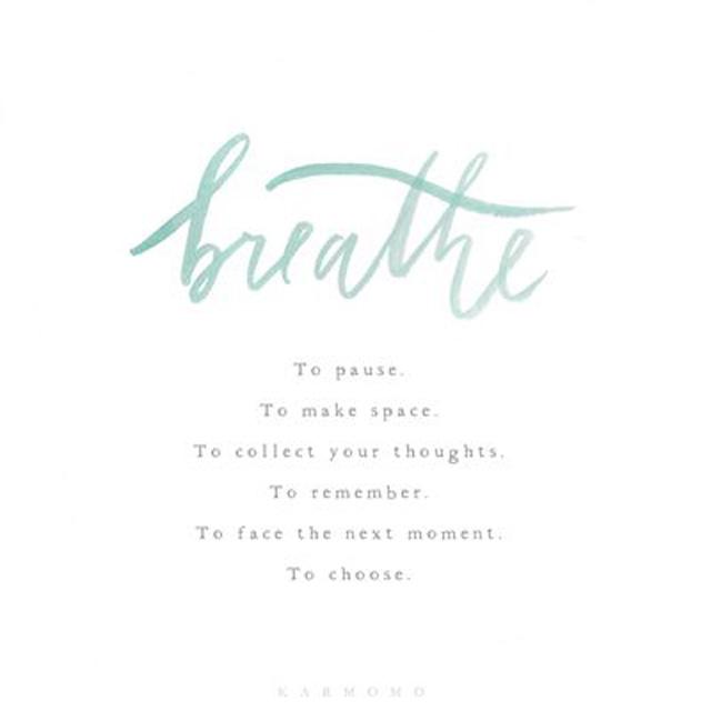 Breathe - by http://www.karmomo.com/