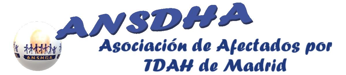 ANSHDA TDAH-Madrid