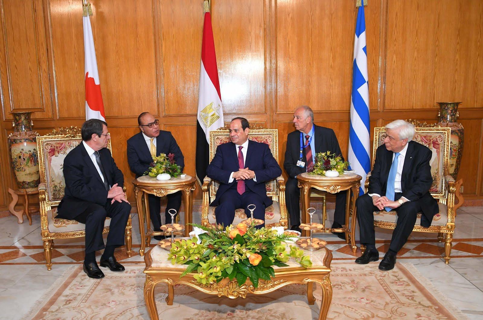 مصر وقبرص واليونان يطلقون مبادرة (العودة الى الجذور) لتوثيق العلاقات