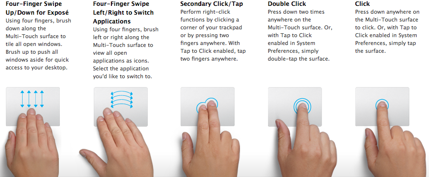 Image result for Multi-Touch trackpad