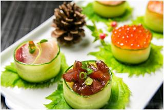 Cách làm Sushi cuộn dưa chuột ngon miệng