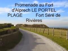 Vidéo du fort d'Alprech (Le Portel Plage)