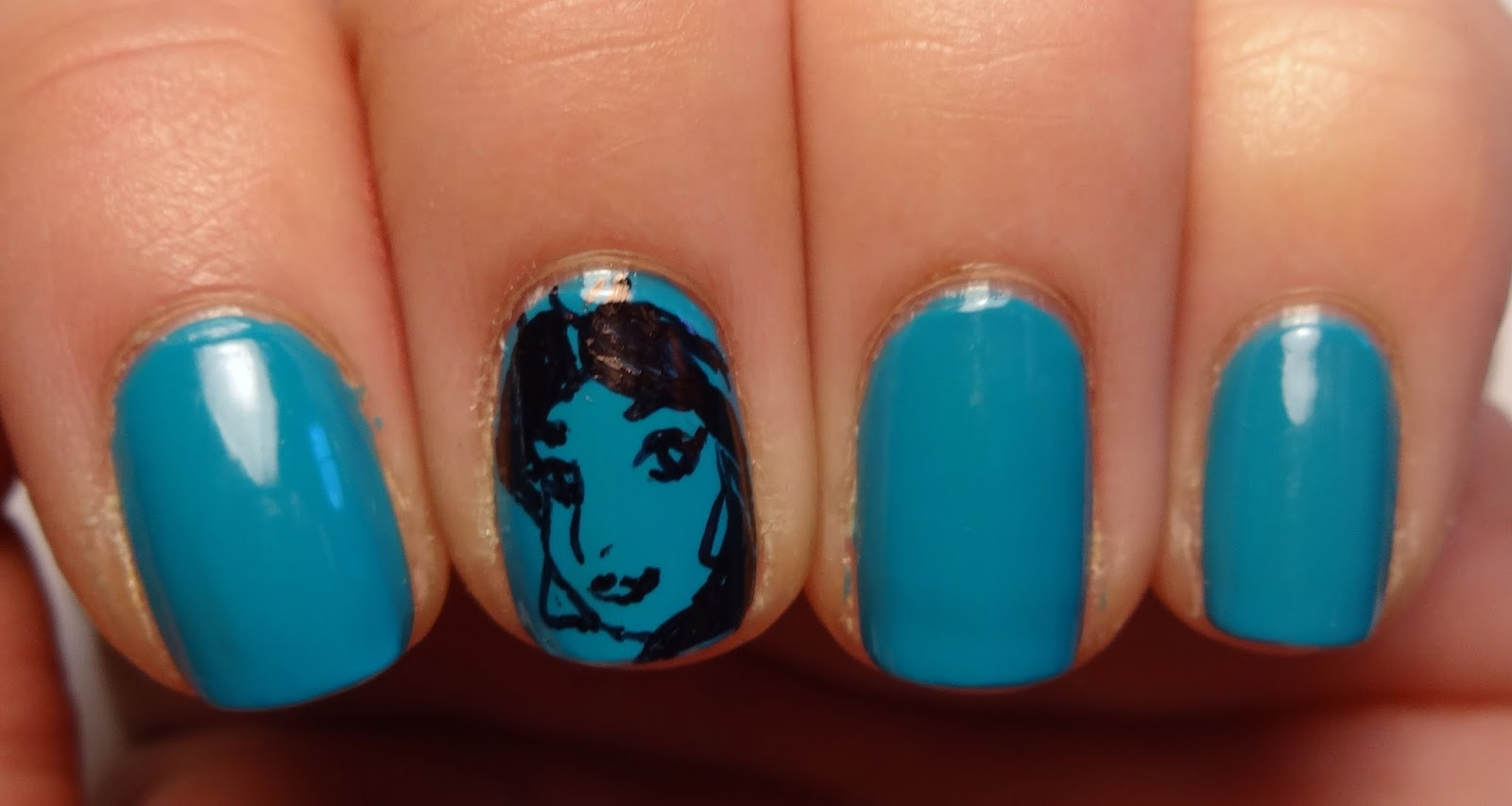 Princess Jasmine Nail Art