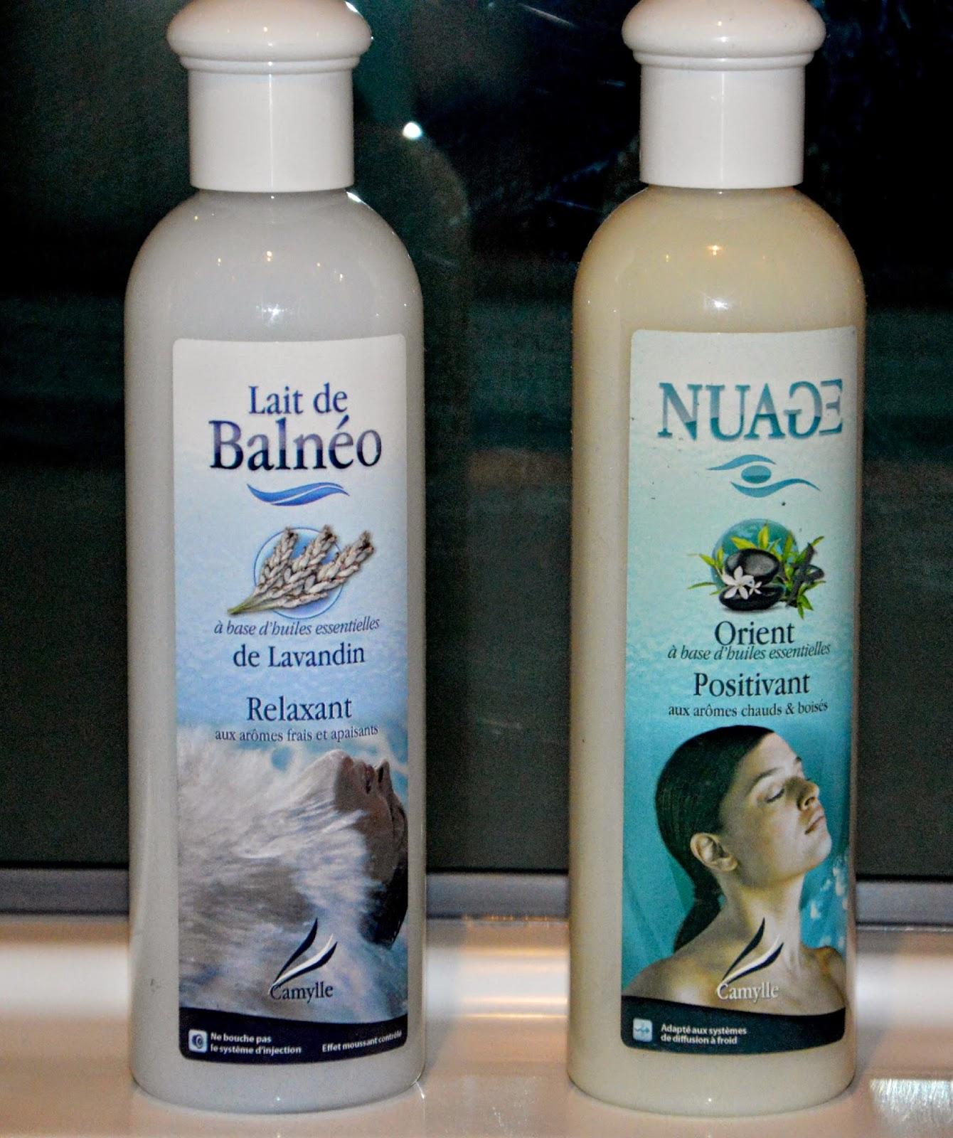 Bain lactée lavande et parfum orientale