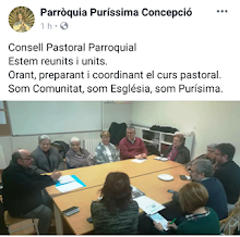 Consell Pastoral. Curs 2019-20