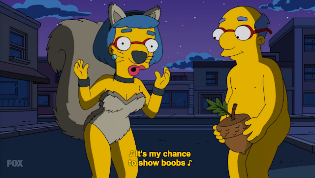 Thanks a fucking bunch, The Simpsons, for the horrifying visual of what the Van Houtens do in these skimpy costumes behind closed doors.