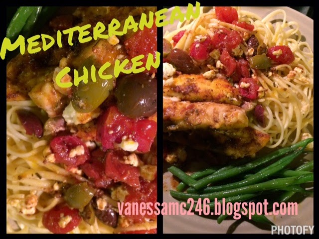 the butterfly effect, vanessa mclaughlin, vanessamc246, mediterranean chicken