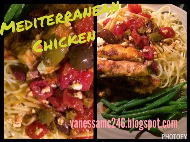 the butterfly effect, vanessa mclaughlin, vanessamc246, mediterranean chicken