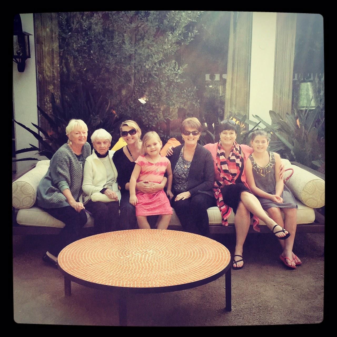 Lizzie Lau The Parker Palm Springs Four Generations