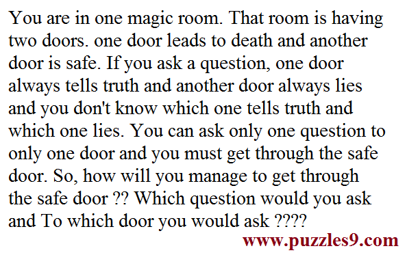 solve riddles and check your answers in puzzles/aptitude/brainteasers/riddles